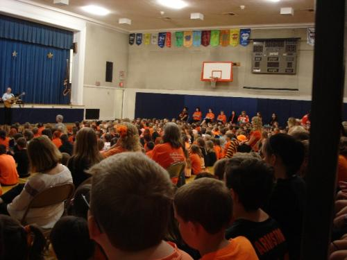 Walton, New York - Elementary School Assembly