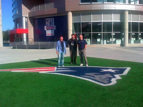 Foxboro, Massachusetts -  Gillette Stadium, Home of the New England Patriots