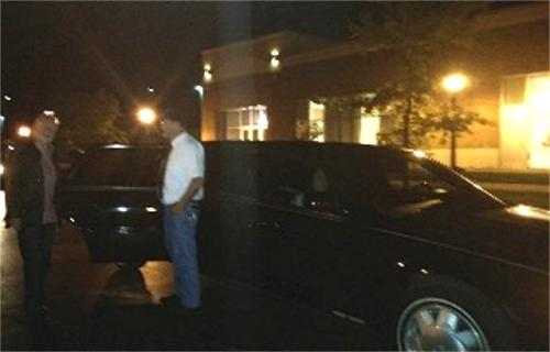 Bay City, Michigan - Treated like royalty with our own limo!