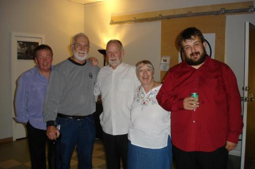 Worcester, Massachusetts -   Fans Lew & Fran