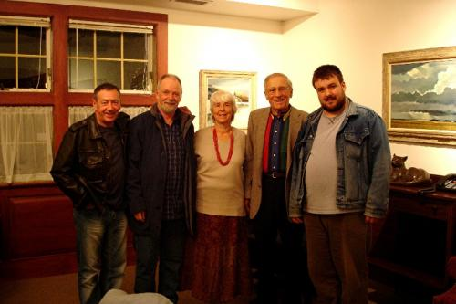 Bennington, Vermont - With hosts Bruce and Elizabeth